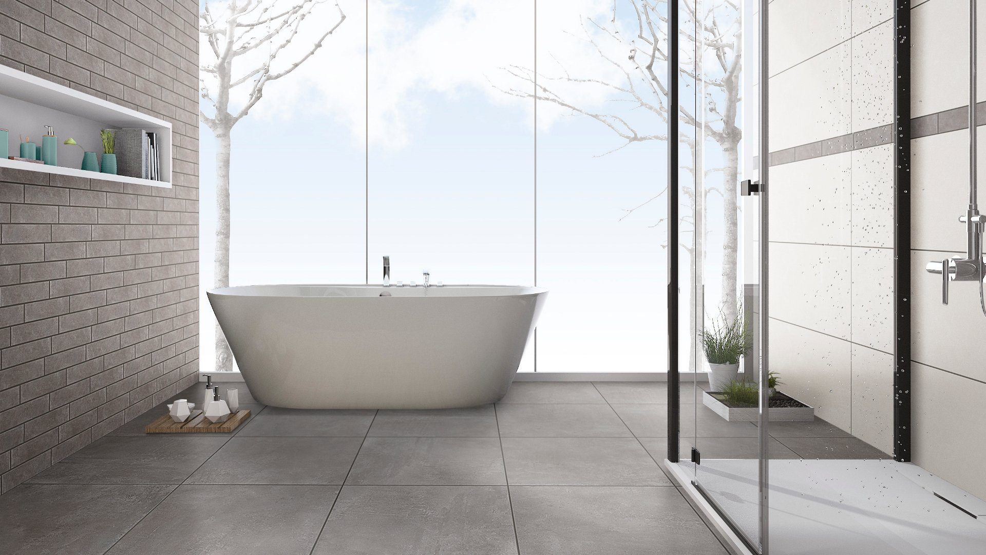 IGA Ambiente U2013 Ein Wand  Und Bodenkonzept Für Stilvolle Urbanität